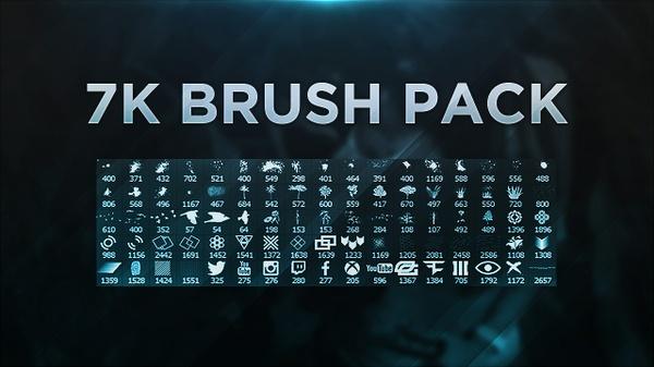 7k Photoshop Brush Pack