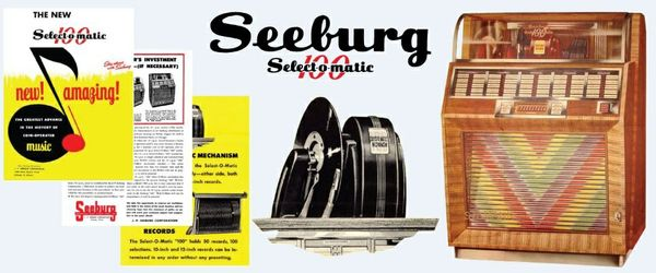 Seeburg    M100-A  (1948-50)   Manual & Brochure