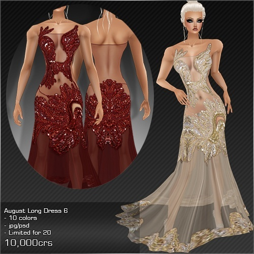 2013 Aug Long Dress # 6
