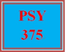 PSY 375 Week 1 Life Span Perspective Paper