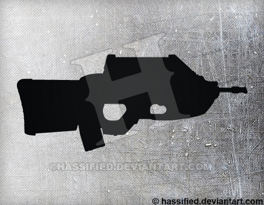 FN F2000 - printable, vector, svg, art