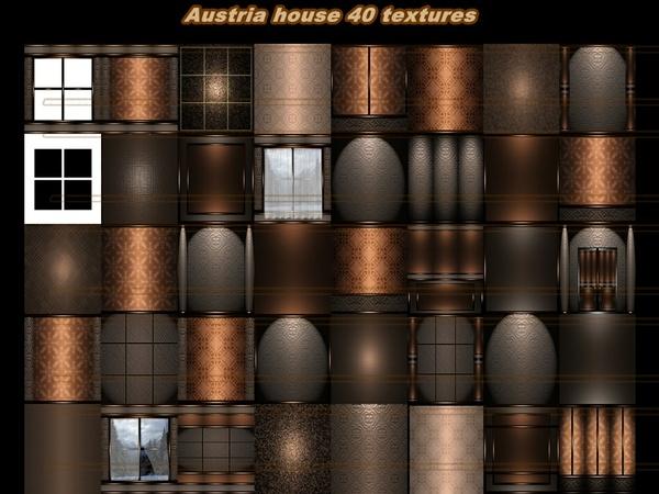 AUSTRIA house 40 TEXTURES room