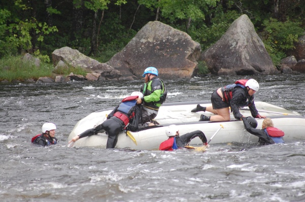Penobscot Rafting Video 08/14/2016