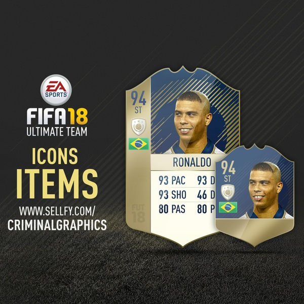 FIFA 18 ICONS ITEM