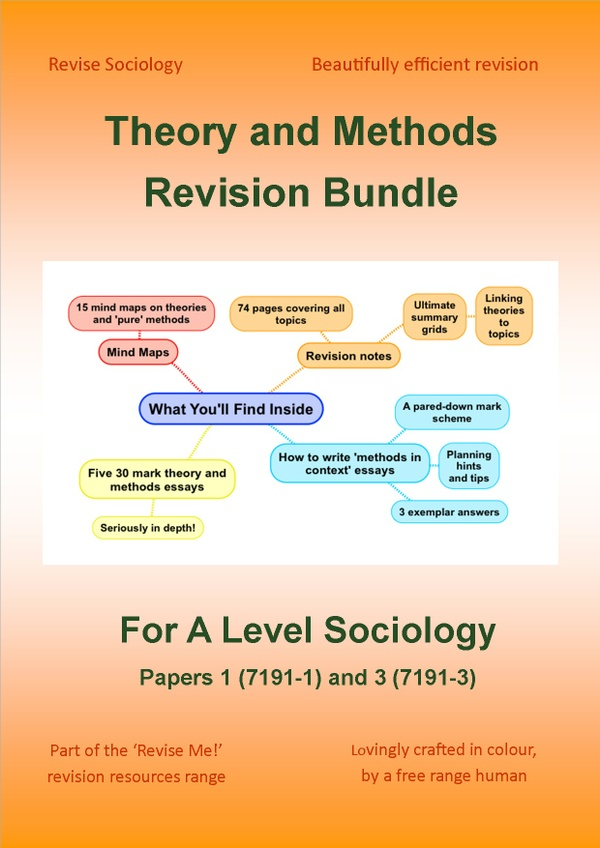 Theory and Methods A Level Sociology Revision Bundle
