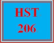 HST 206 Week 5 Journal Entry