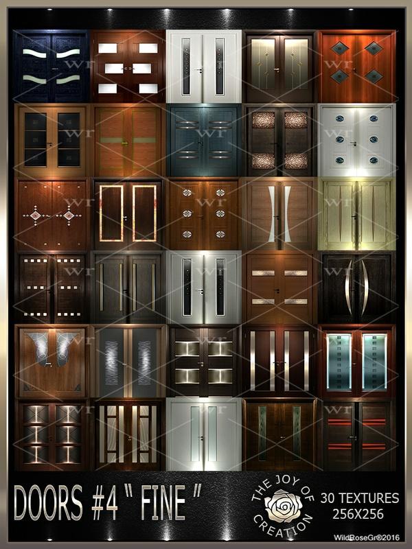 """~DOORS #4 """" FINE """" TEXTURE PACK ~"""