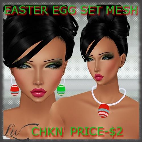 Easter Egg Set MESH