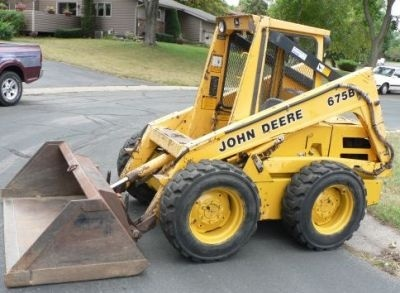 John Deere Skid Steer Loader: 675, 675B Workshop Service Manual