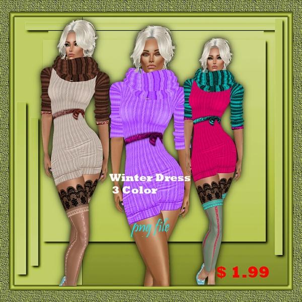 winter mini dress texture