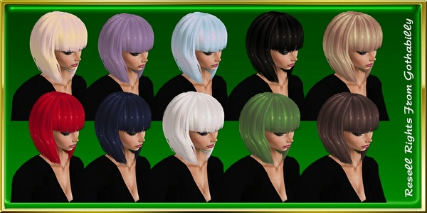 Vivid Hair Colors Exclusive Catty Only!!!