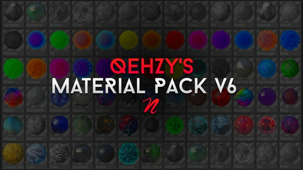 Qehzy Materials v6
