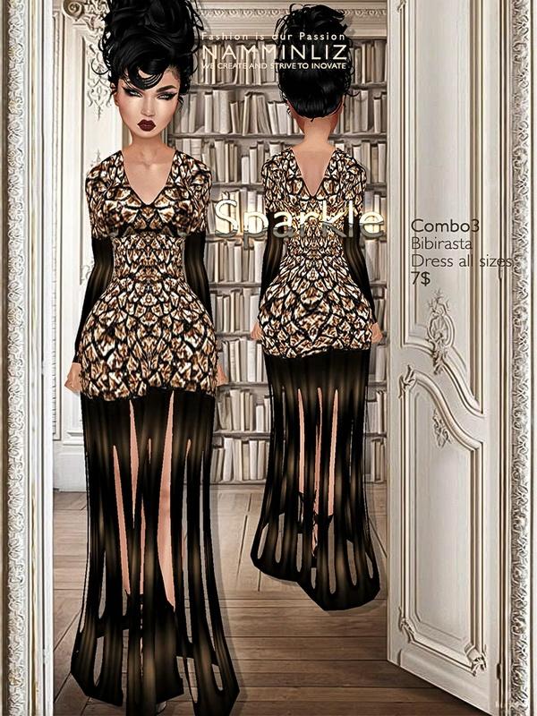 Sparkle combo3 imvu Bibirasta dress all sizes texture JPG