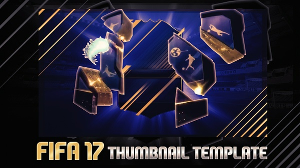 FIFA 17 THUMBNAIL TEMPLATE TOTY EDITION