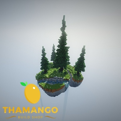 Large SkyBlock Island