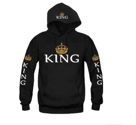 B Royal Designs KING Sweat Shirt (Shipping Included)