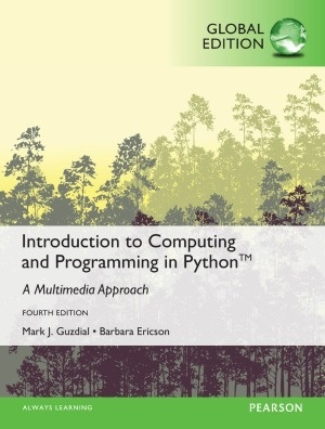 Introduction to Computing and Programming in Python,4th edition  ( PDF, Instant download )