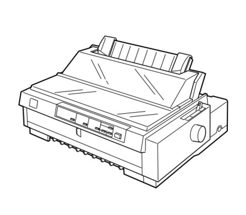 Epson FX-980 Impact Serial Dot Matrix Printer Service Repair Manual
