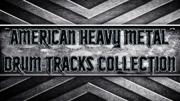 American Heavy Metal Drum Tracks Collection