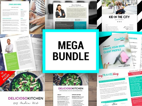 TEMPLATES MEGA BUNDLE | FREE UNTIL JAN 1, 2017 AT 11:59PM!