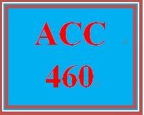 ACC 460 Week 5 Learning Team Key Concepts Presentation