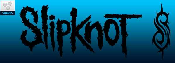 [FREE] Slipknot Logo Custom Shapes for Photoshop