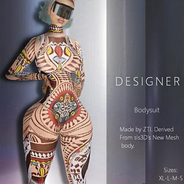 Designer Bodysuit 334