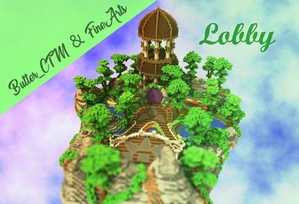 [Minecraft] Tiny Lobby whit Portal!