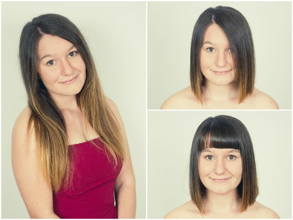 Madeline's Bob Haircut