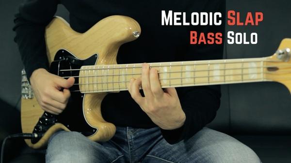 Melodic Slap Bass Solo
