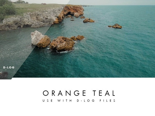 100% Free Mavic Lut - (Orange Teal Look)