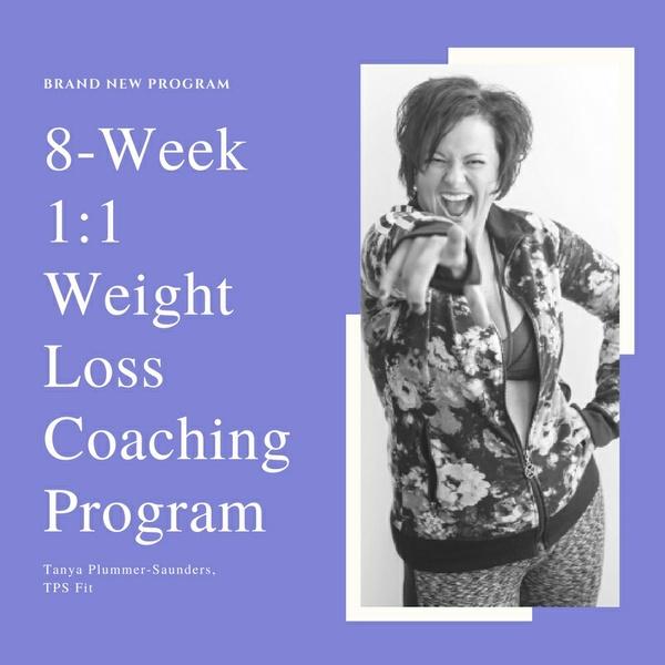 8-Week 1:1 Weight Loss Coaching Program