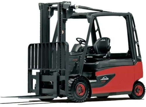 Linde Electric Forklift Truck 388 Series: E35, E40, E45, E50 Operating and Maintenance Instructions