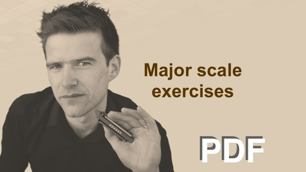 Major scale exercises