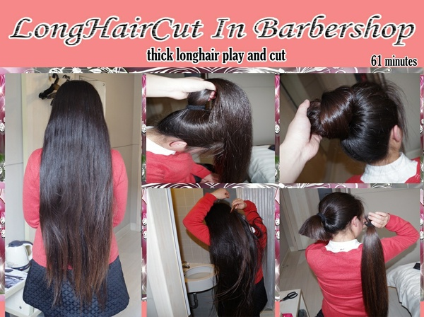 thick longhair play and cut