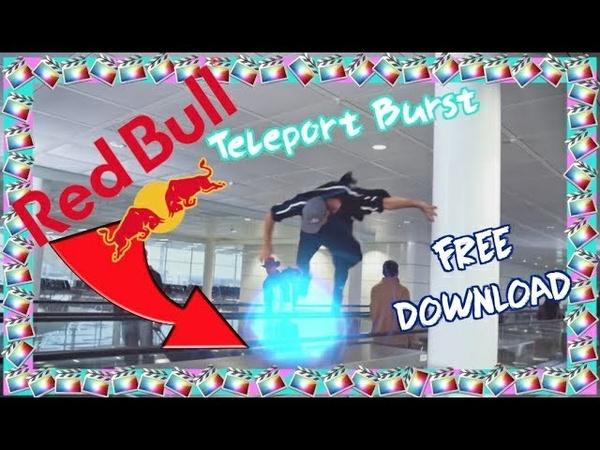 RED BULL Teleport Burst Tutorial - Final Cut Pro