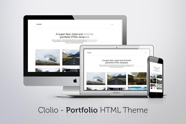 Clolio - Portfolio HTML Theme