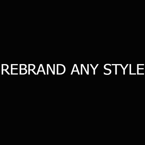 rebrand any style