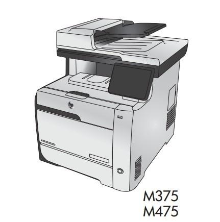 HP LaserJet Pro 300 color MFP M375 and HP LaserJet Pro 400 color MFP M475 Printers Service Manual