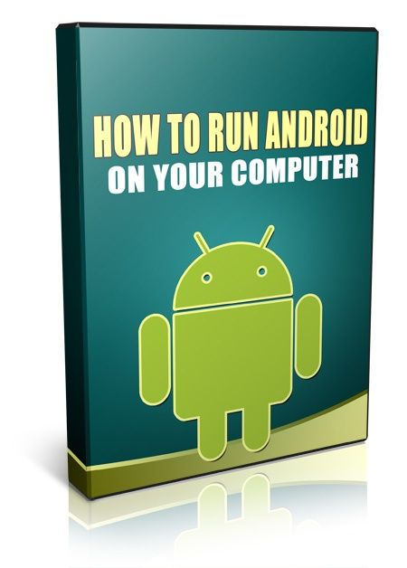 How To Run Android On Your Computer - Video Series PLR