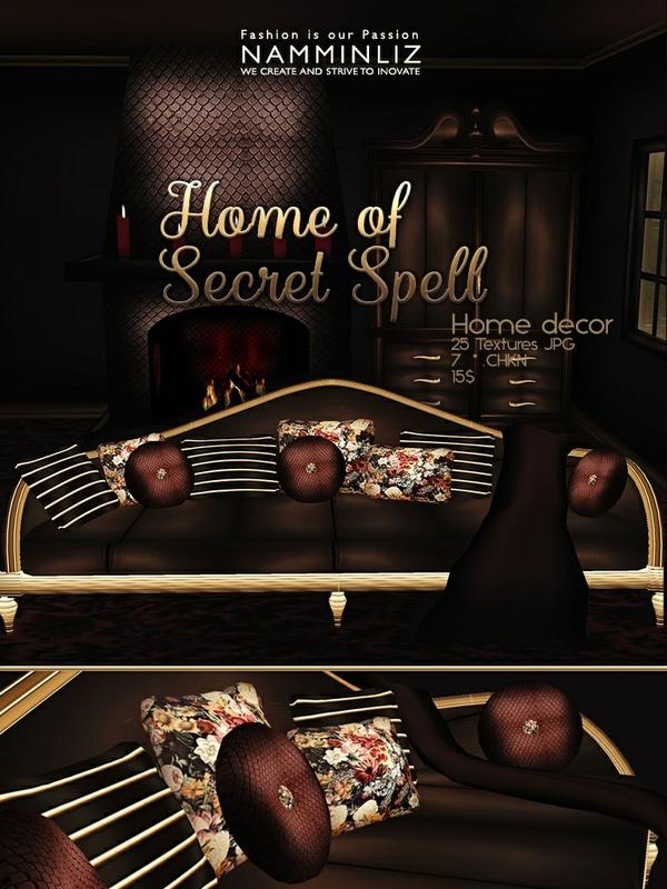 Home of Secret spell imvu Home decor JPG Texture 25 textures JPG 7 *.CHKN filesale