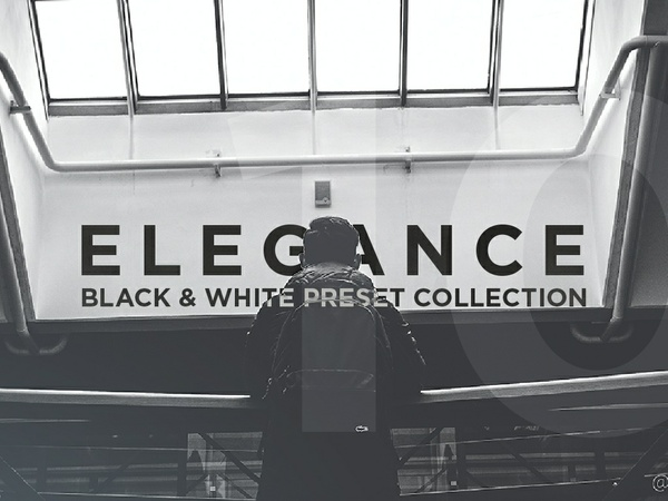 10 BLACK & WHITE PRESET COLLECTION FOR LIGHTROOM