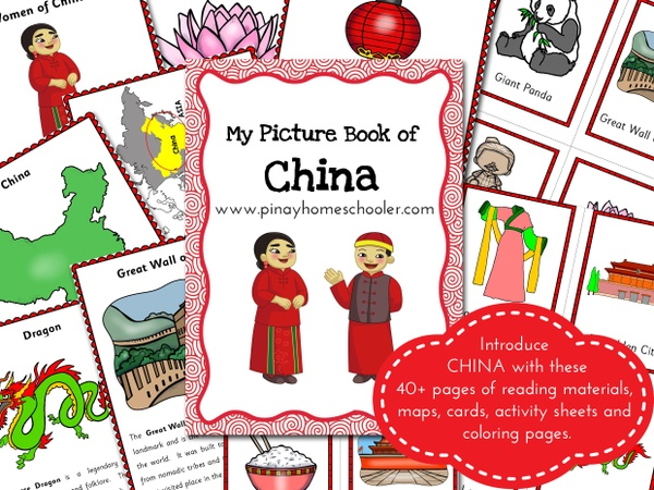 CHINA:  Picture Book and Cards
