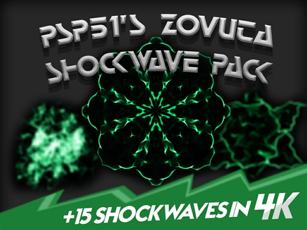 PSP51's Zovuta Shockwave Pack