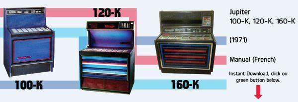 Jupiter   100-K, 120-K, 160-K  (1971)
