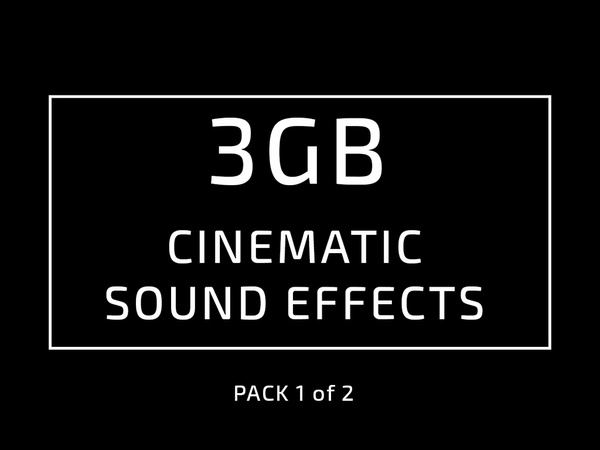 Cinematic video sound EFFECT (PACK 1 of 2) from ADOBE PRESET