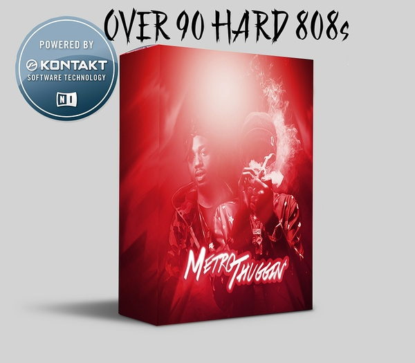 METRO THUGGIN 808s KONTAKT LIBRARY (UPDATED)