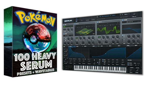 Pokemon GO HARD - Xfer Serum Presets & Wavetables