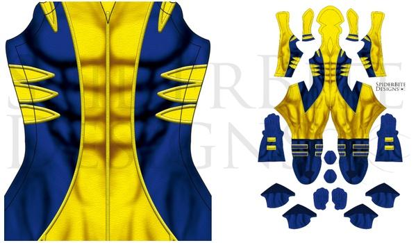 Wolverine Blue Classic Suit