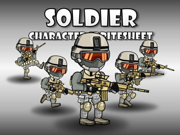 Soldier 52 Desert SpecOps